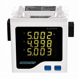 Dc Power And Energy Meter  U2013 Acudc 240