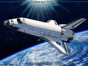 HD Space Shuttle in Orbit - Pics about space