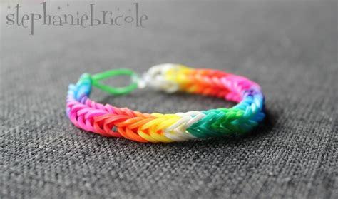 bracelet elastique tuto tuto diy comment faire des bracelets avec des 233 lastiques st 233 phanie bricole