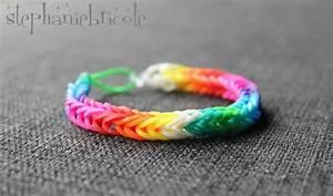 Bracelet Avec Elastique : tuto diy comment faire des bracelets avec des lastiques st phanie bricole ~ Melissatoandfro.com Idées de Décoration
