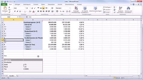 kalkulation und excel export youtube