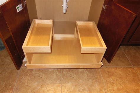 how to make kitchen cabinet pull out shelves pull out shelving picture gallery