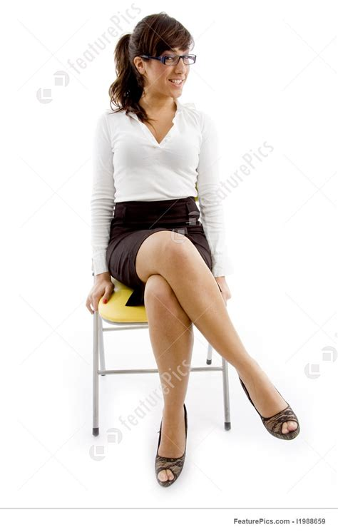 Sitting Chair Price by Business Sitting On Chair Stock Picture