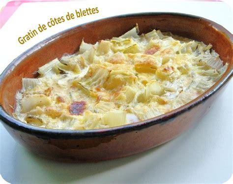 cuisiner cotes de blettes gratin de côtes de blettes cuisine et dépendances