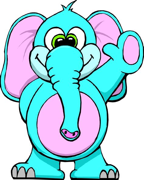 elephant cartoon pictures   clip art