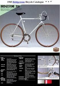 1985 Bridgestone 700 Road Bike