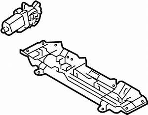 Ford Mustang Seat Motor  Power  Tracks  Left