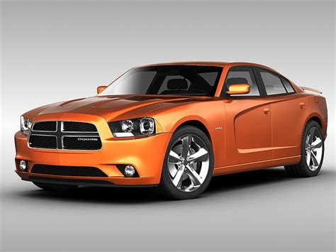 dodge charger  cgtrader