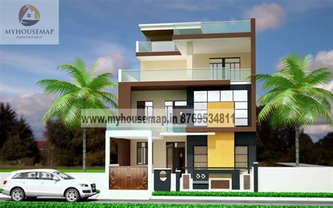 small home designs floor plans modern elevation design of residential buildings front
