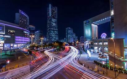 Japan 4k Wallpapers Yokohama Cityscapes Tokyo Lights