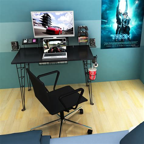 small gaming desk awesome designs of gaming computer desks atzine