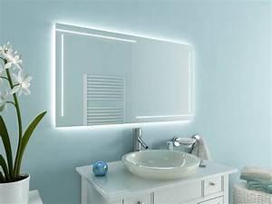 Bad Spiegelschränke Mit Led Beleuchtung : badspiegel mit led beleuchtung ancona ~ Bigdaddyawards.com Haus und Dekorationen