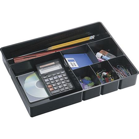 office depot desk drawer organizer officemate deep drawer organizer tray 8 compartments 2 14