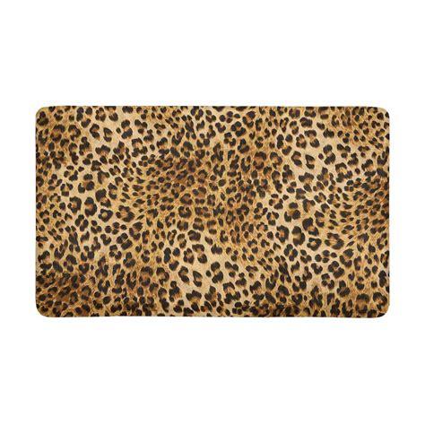 Leopard Doormat by Leopard Indoor Doormat Non Slip Front Entrance Door Mat