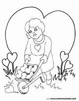 Coloring Chandelier Valentine Pages Getcolorings Printable Getdrawings sketch template