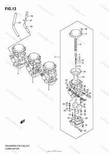 Suzuki Motorcycle 2006 Oem Parts Diagram For Carburetor