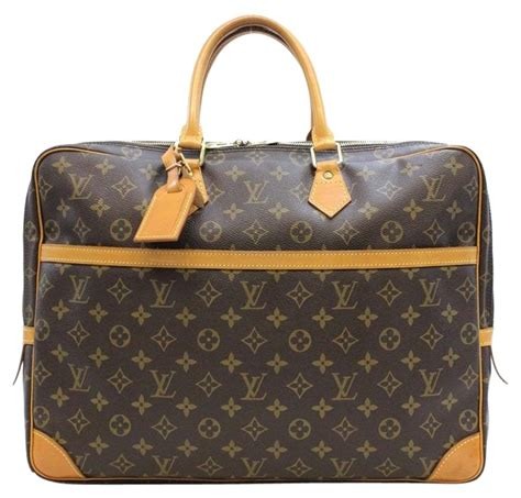 louis vuitton porte documents voyage monogram business bag