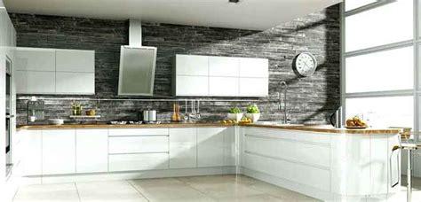 cocinas blancas  grises  el hogar