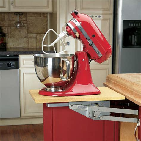 kitchen cabinet mixer lift rev a shelf ras ml hdcr series heavy duty chrome kitchen