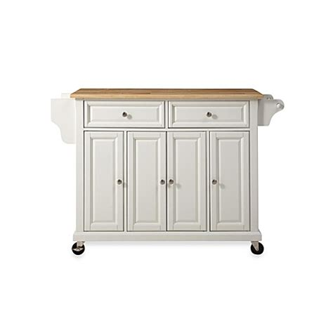 wood kitchen island cart crosley wood top rolling kitchen cart island bed