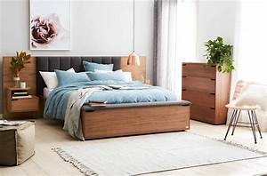 lincoln bed frame w upholstered bedhead storage foot box With bedhead with storage