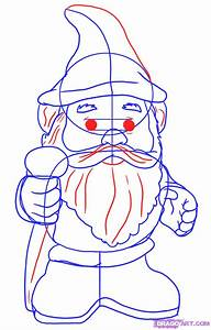 How To Draw A Gnome  Step By Step  Stuff  Pop Culture  Free Online Drawing Tutorial  Added By