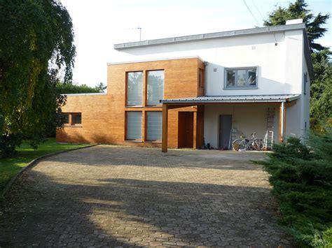 extension en bois d une maison extension bois d une maison 224 chagne au mont d or fabien perret architecte lyon
