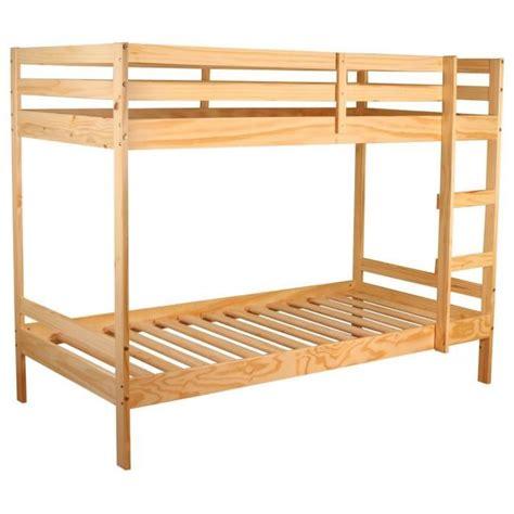 lit superposé avec bureau pas cher lit superpos 233 90x190 blanc 28 images lit superpose
