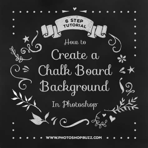 Chalkboard Background Photoshop How To Create A Chalk Board Background In Photoshop