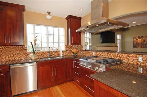 Kitchen Backsplash Ideas With Black Granite Countertops - 23 cherry wood kitchens cabinet designs ideas designing idea