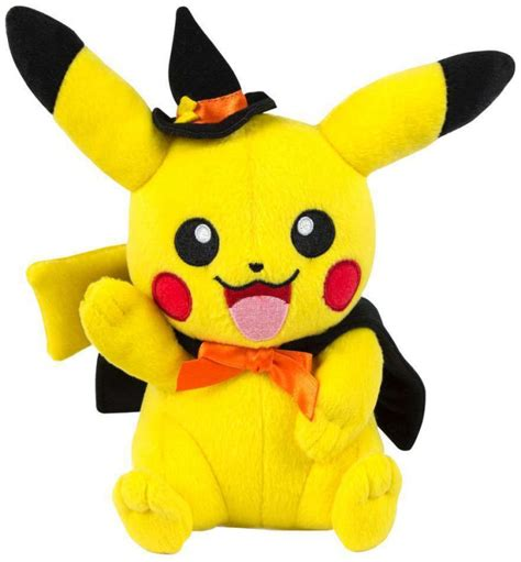 authentic pokemon plush of pikachu halloween 24cm