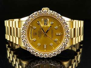 18K Mens Yellow Gold Rolex Presidential Day-Date 36MM ...