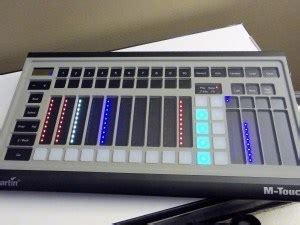 martin m touch review m touch lighting console learn stage lighting