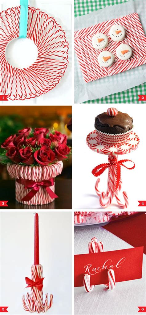 candy cane party decor ideas christmas candy cane