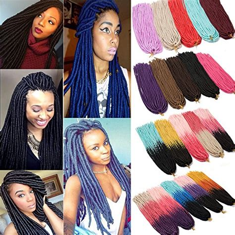 soft crochet twist box braids hair extensions  roots