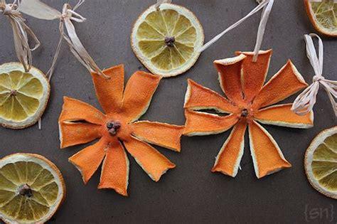 dried orange  clove tree garland allfreeholidaycraftscom