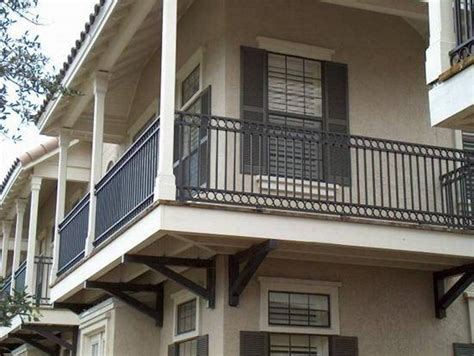 Contemporary Metal Iron Vertical Balcony Railing Fence