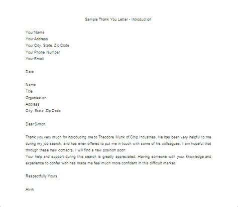 appreciation letter templates thank you letter for appreciation 10 free word excel