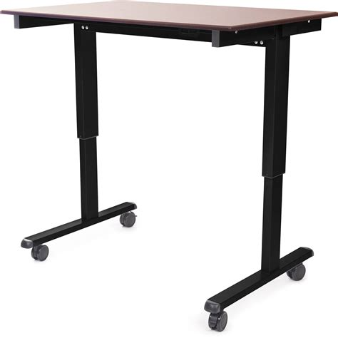 luxor 48 electric standing desk luxor 48 quot electric standing desk stande 48 bk dw b h photo