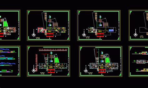 museum student project dwg full project  autocad