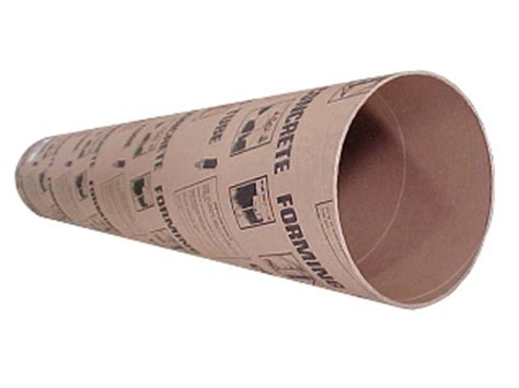 round concrete form tubes cox hardware and lumber concrete form tube 14 in d x 12 ft