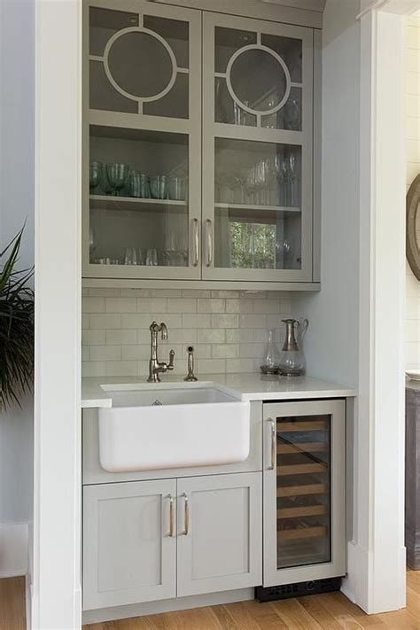 Home Bar With Sink by Bar With A Farmhouse Sink May Be Small But Does Not
