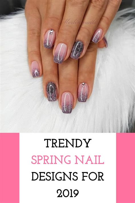 trendy spring nail designs   naildesigns