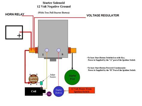 Volt Solenoid Wiring Help Ford Truck