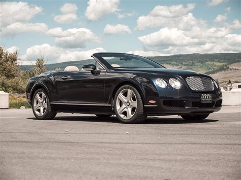 pre owned  bentley continental gt convertible