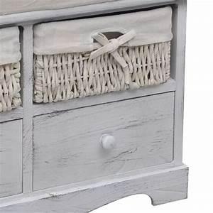 Banc Avec Rangement : la boutique en ligne banc de rangement blanc en bois avec ~ Melissatoandfro.com Idées de Décoration