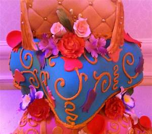 Arabian Nights Themed Quinceanera Cake - CakeCentral.com
