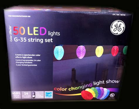 ge 50 led bulbs color effects changing christmas lights