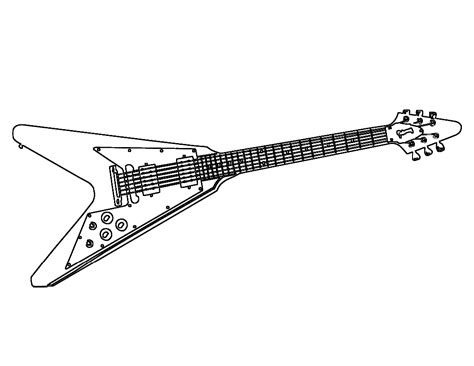 Rock And Roll Coloring Pages - Eskayalitim
