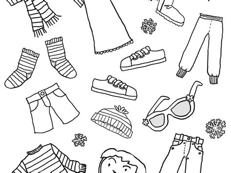 summer clothes coloring pages  getcoloringscom